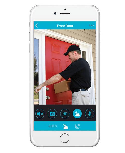 Cámara de vigilancia para iPhone / iPad