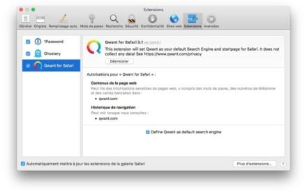 Cambia el motor de búsqueda de Safari Mac (Qwant, Bing, DuckDuckGo...)