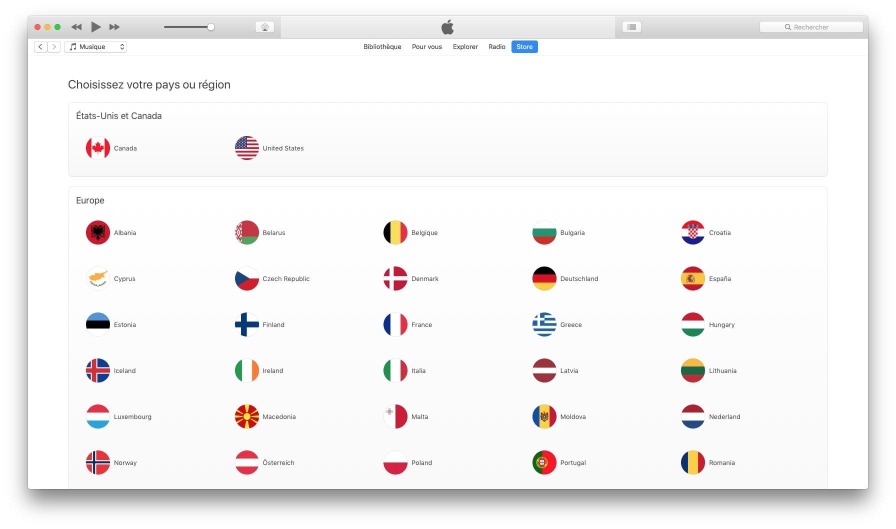 Cambia el país de tu App Store con un Mac o iPhone
