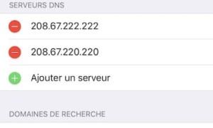 Cambiar el DNS de tu iPhone / iPad