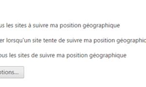 Bloquear las solicitudes de ubicación en los navegadores