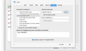 Configuración de un proxy en Mac (Sierra, El Capitan...)