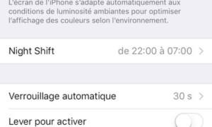Desactivar True Tone en iPhone X, iPhone 8, iPad Pro