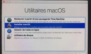 Descenso de macOS High Sierra (10.13) a macOS Sierra (10.12)