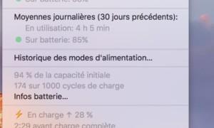 Mantenimiento de la batería del MacBook en macOS Sierra (10.12)