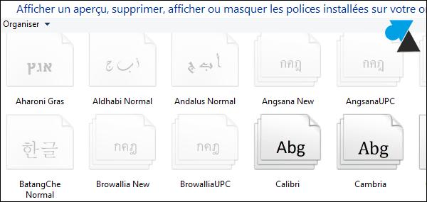 Windows 8 / 8.1 : instalar una nueva fuente