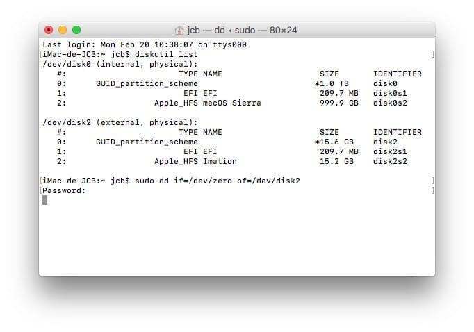 Formatear tu Mac a bajo nivel (reparar sectores defectuosos, fallos de formato...)