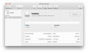 Formatear una llave USB en Mac: para usarla bajo macOS, Windows, Linux