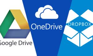 Dropbox, Google Drive y OneDrive: ¿una combinación perfecta en servicios de almacenamiento?