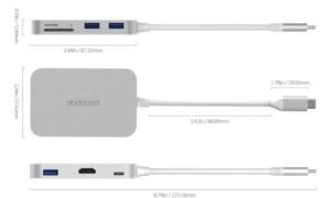 DC30S USB-C dodocool hub (7 en 1): Cómo empezar