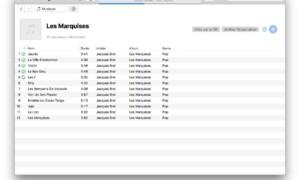 Importar un CD de audio con iTunes Mac (AAC, MP3, WAV)