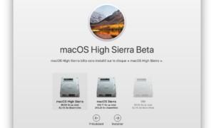 Instalación macOS High Sierra (10.13) : consejos a seguir!