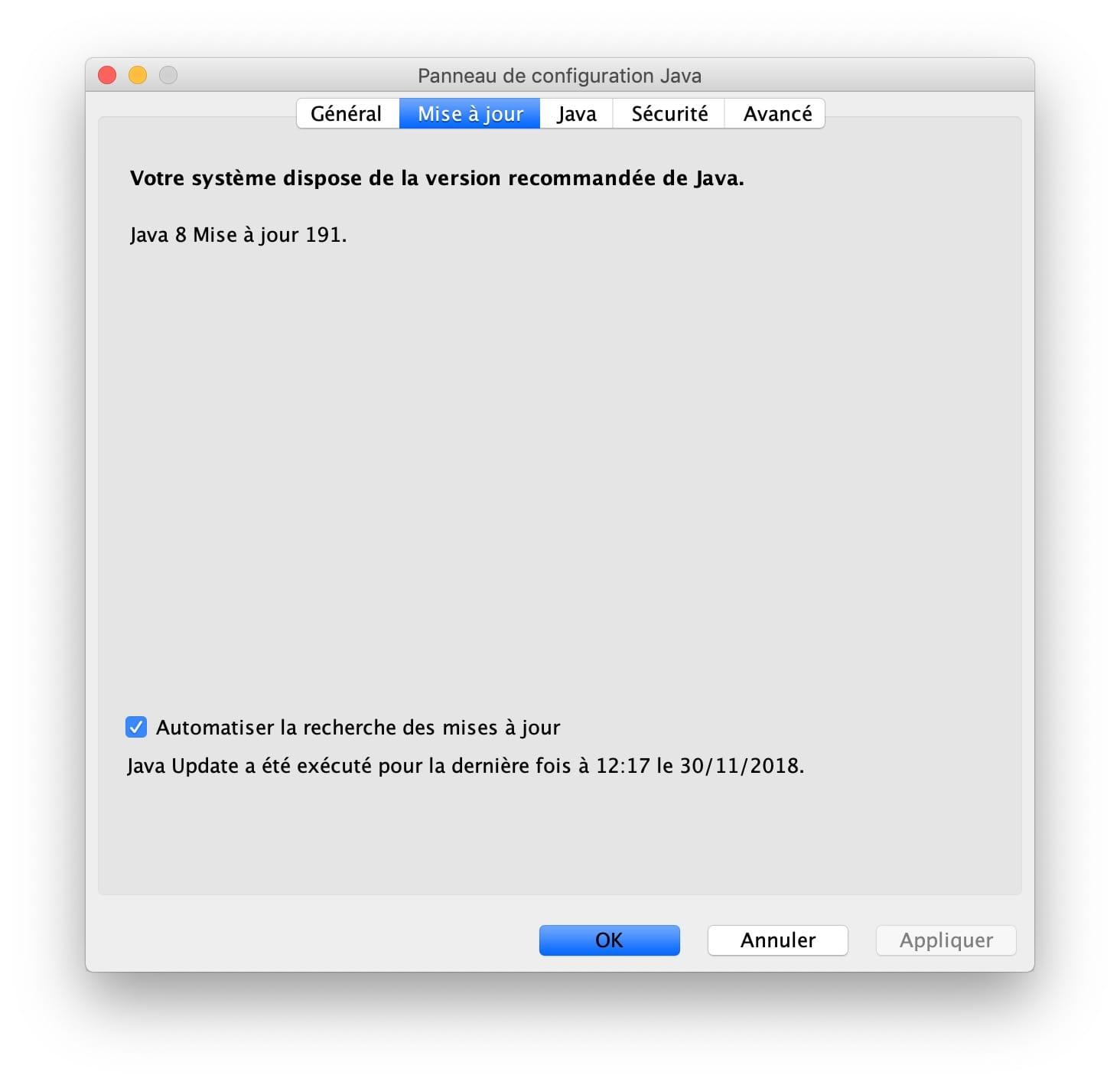 Instalación de Java macOS Mojave (10.14) : instrucciones de uso