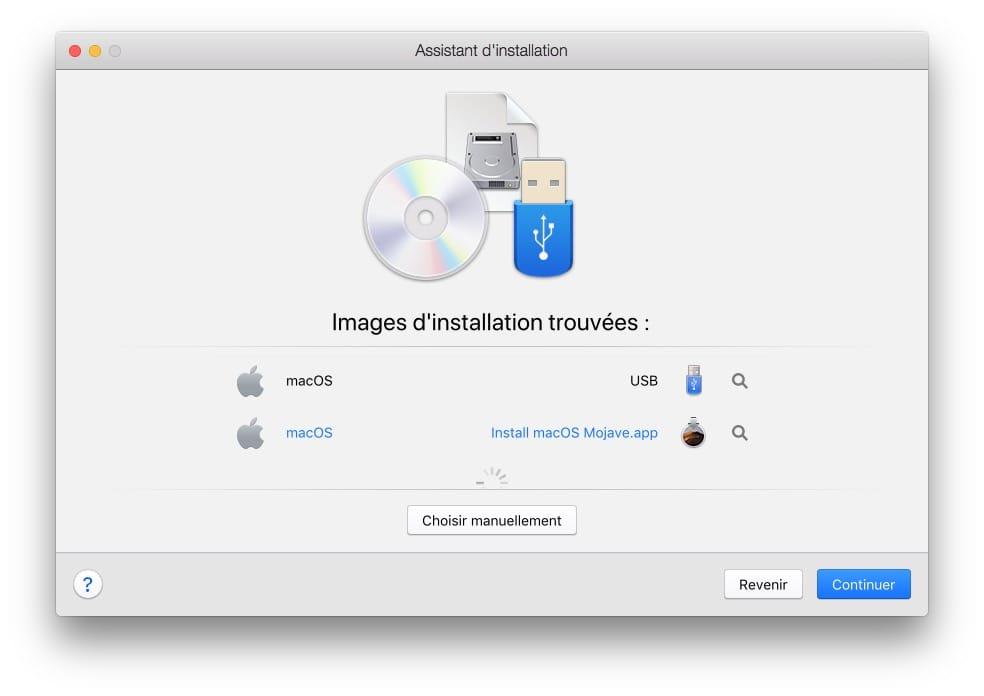Instalación de macOS Mojave (10.14) : 4 métodos