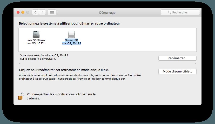 Instalar macOS Sierra en un lápiz de memoria USB o en una unidad externa