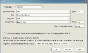 Utilice un estilo de fuente de su elección en los sitios web de Firefox
