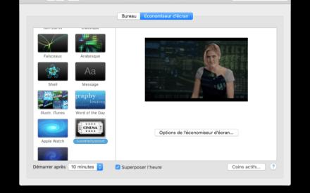 Reproducción de un vídeo como salvapantallas en Macbook