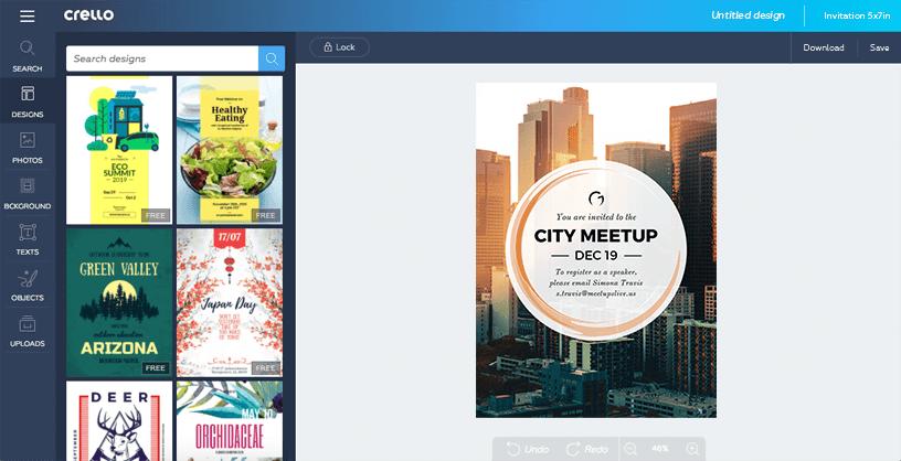 Crello: una herramienta gratuita para crear imágenes gráficas profesionales