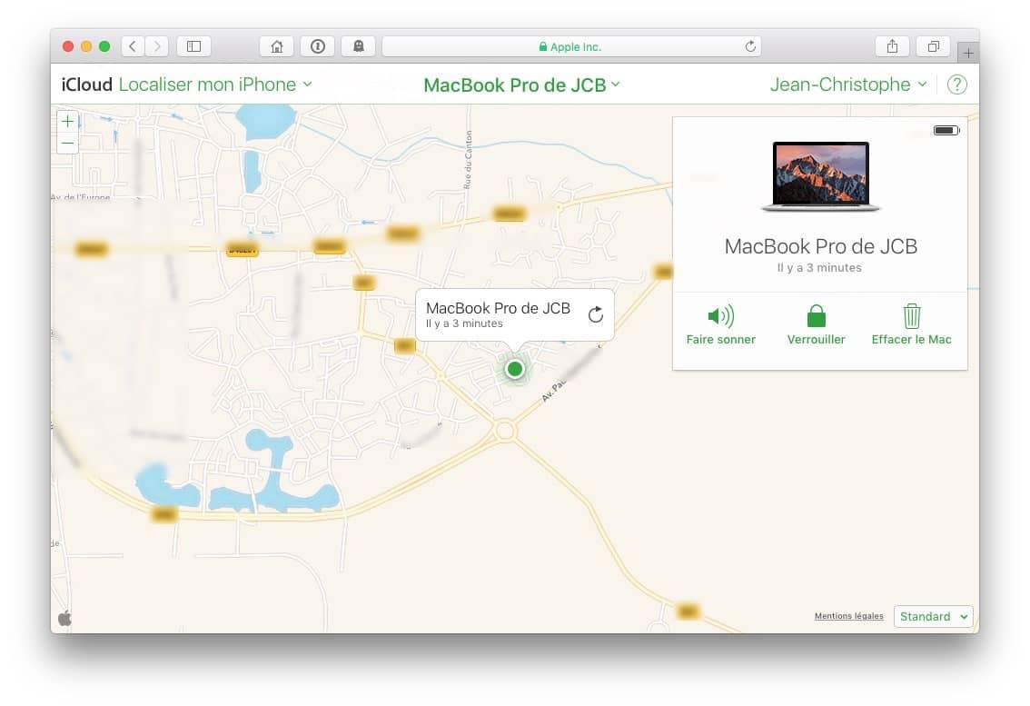 Localiza mi Mac (MacBook, iMac, iPhone, iPad)