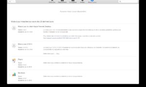 Mac OS X Yosemite 10.10.2 : actualización