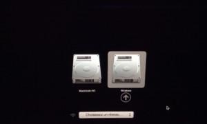 MacBook de arranque dual Mac OS X Yosemite / Windows