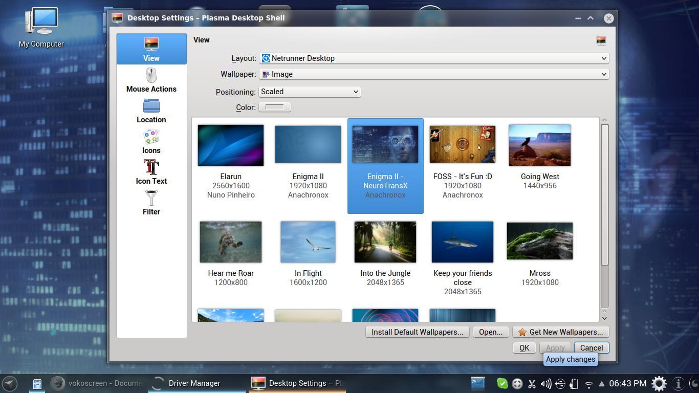 Netrunner 13.12 aún más características