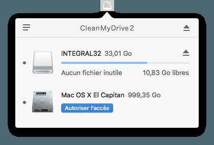Limpieza de una llave USB en Mac (archivos innecesarios)