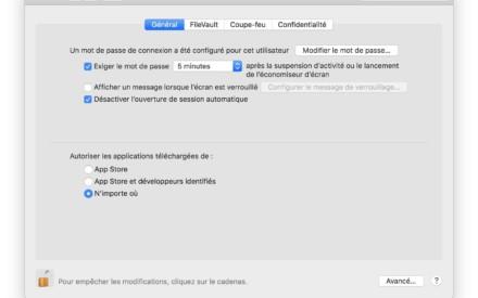 Abrir aplicaciones no identificadas en macOS Mojave (10.14)