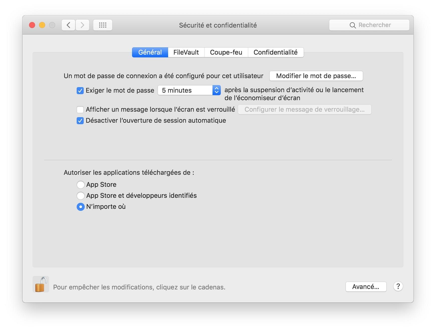 Abrir aplicaciones no identificadas en macOS Mojave (10 14)