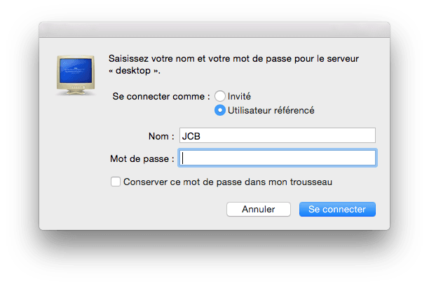 Instrucciones de uso para compartir archivos de Mac y Windows