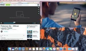 Uso de Imagen en imagen macOS Sierra (10.12)