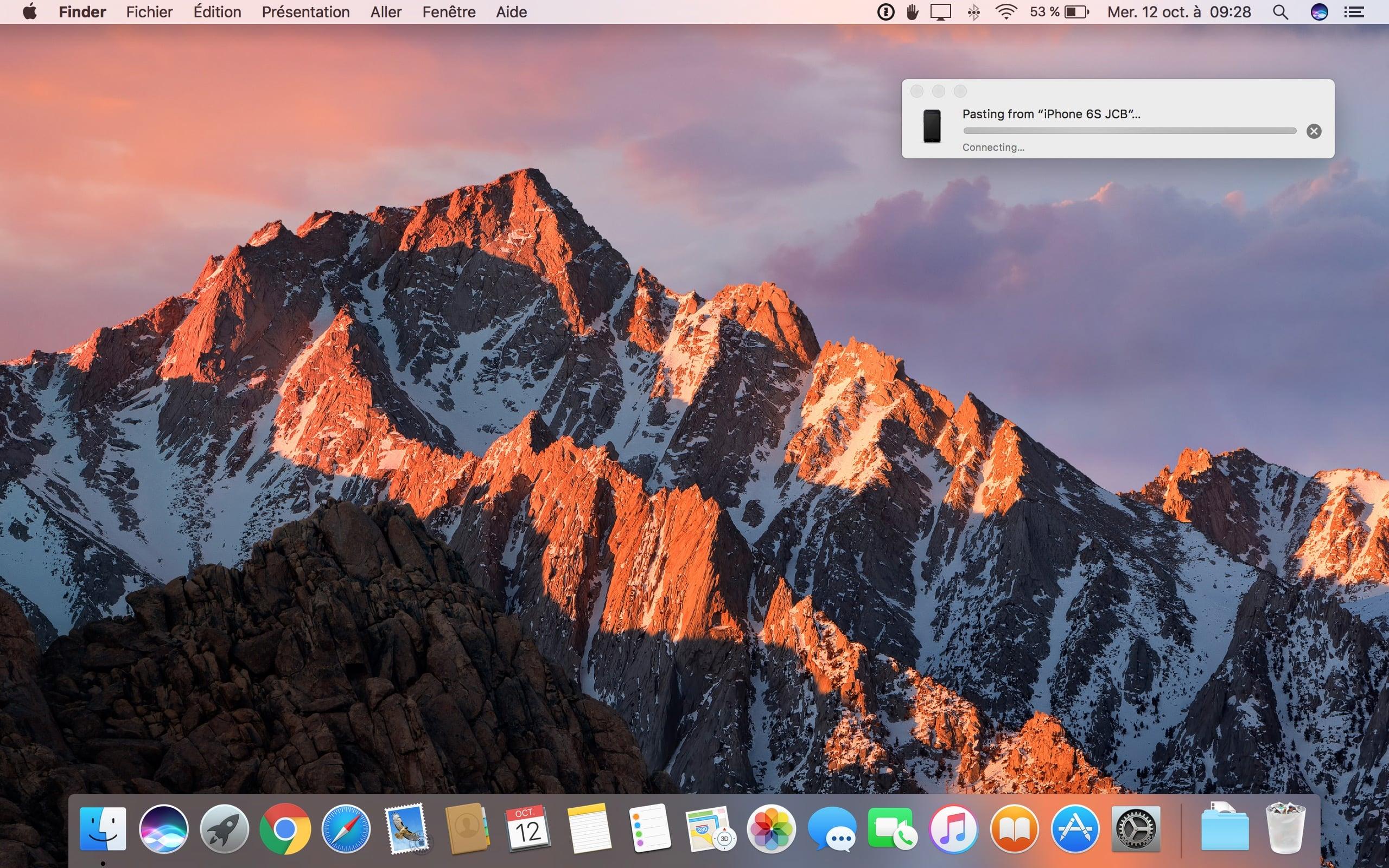 Portapapeles universal macOS Sierra (10.12) / iOS 10: instrucciones de uso