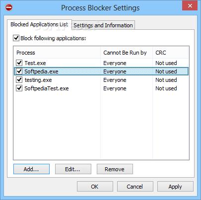 Bloquee los procesos que desee con el bloqueador de procesos