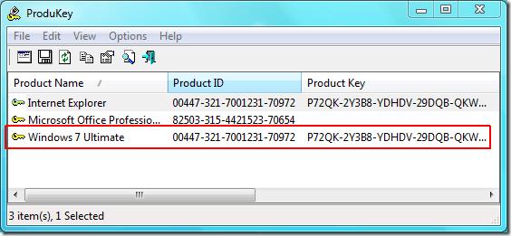 Encuentre las claves de activación de su software de Windows