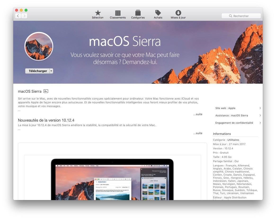 Reconstruir la partición de recuperación de Mac OS Sierra (10.12)