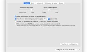 Ajuste del teclado retroiluminado del MacBook