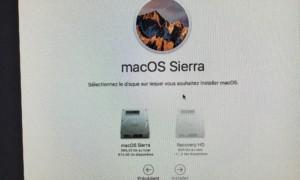Reinstale macOS Sierra (10.12) en unos pocos clics!