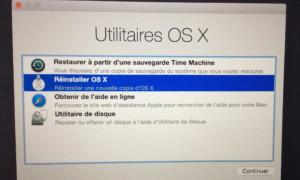 Vuelve a instalar tu MacBook como lo hiciste originalmente