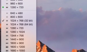 Cambia la resolución de pantalla de tu Mac rápidamente (Sierra, El Capitan...)