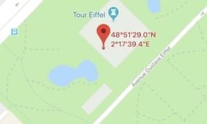 Introducir coordenadas GPS en el iPhone (Mapas, Mapas)