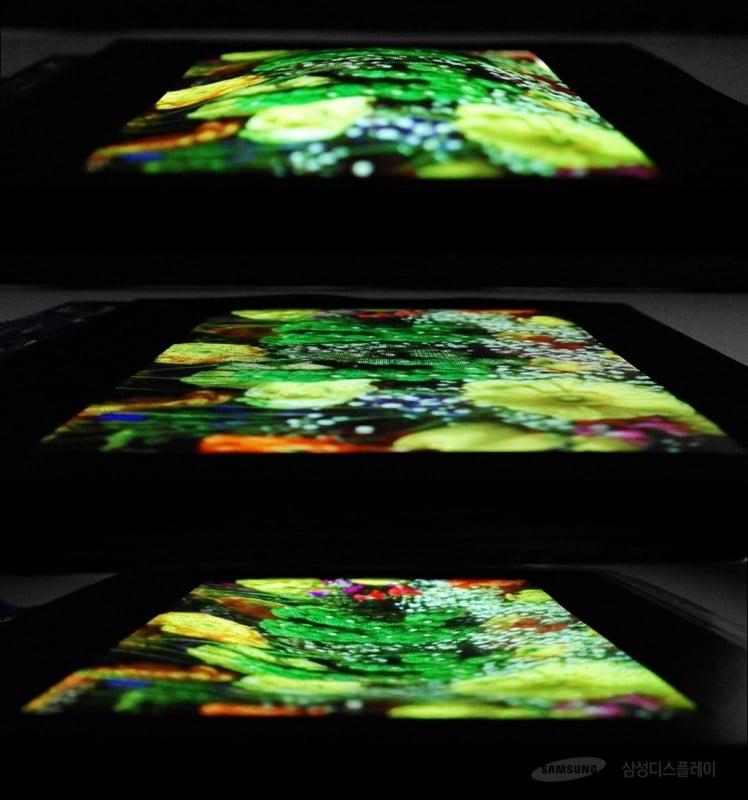 Samsung presenta una fascinante pantalla OLED extensible para los smartphones del futuro