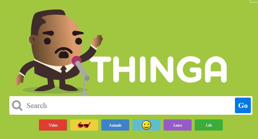Thinga: el primer motor de búsqueda para niños!