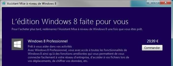 Cualquiera puede comprar Windows 8 por 30€.