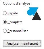 Desinstale McAfee, Norton u otro antivirus y active Windows Defender.