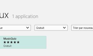 Windows Store: Realizar una búsqueda