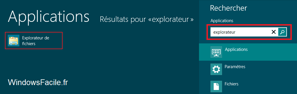 Windows 8 / RT: abrir el explorador de archivos