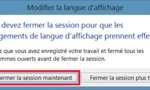 Windows 8 / 8.1: cambiar el idioma del sistema