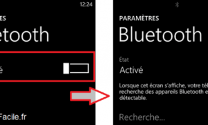 Windows Phone: Activar Bluetooth