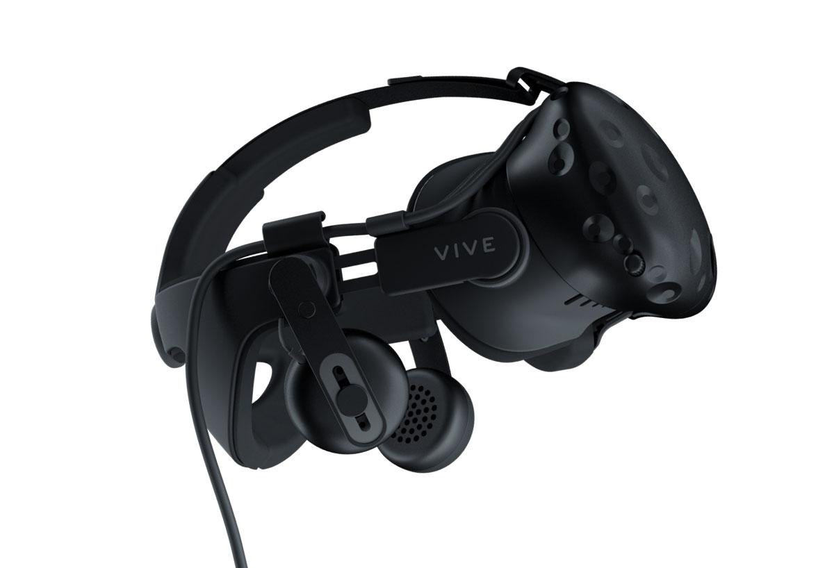 CES 2017: HTC Vive Deluxe Audio Strap, Tracker y accesorio inalámbrico para auriculares 2