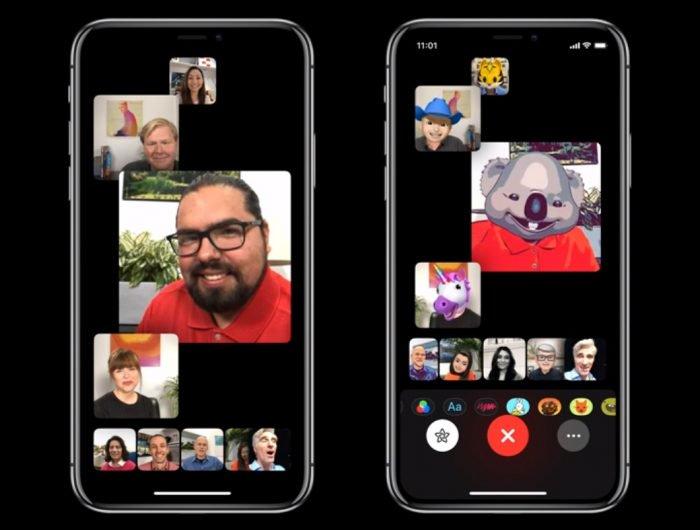 Apple pospone FaceTime en el grupo iOS 12